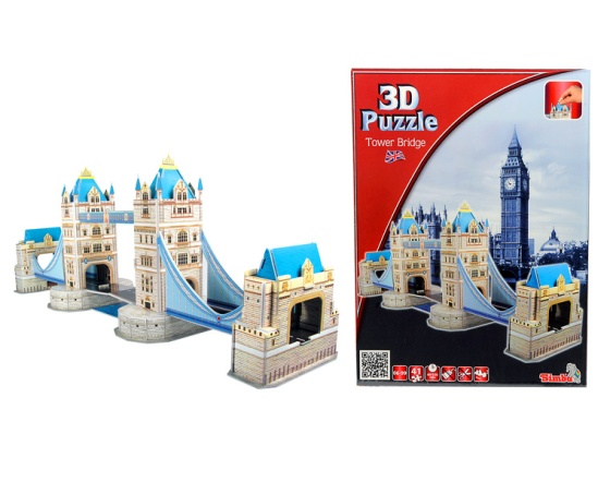 3D Tower Bridge Puzzle is great for teens and adults
